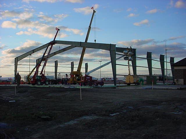 Fedex Hangar Creative Construction Llc