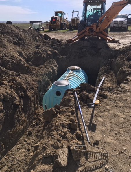 Excavation completed by Creative Construction in Bismarck-Mandan, ND